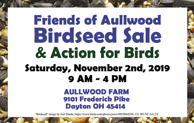 Friends of Aullwood Birdseed Sale & Action for Birds