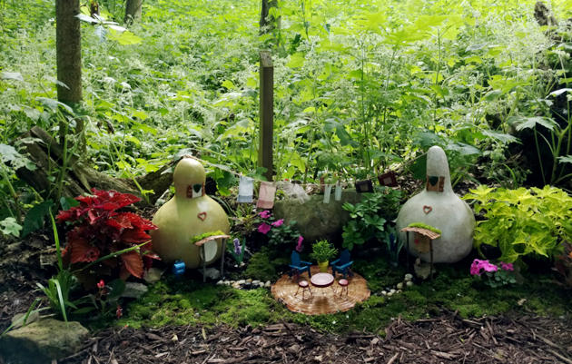 Come enjoy the Faerie Communities of Aullwood