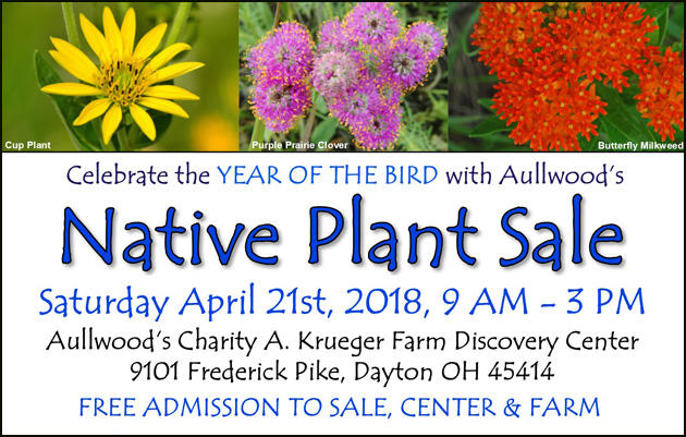 Aullwood's Native Plant Sale