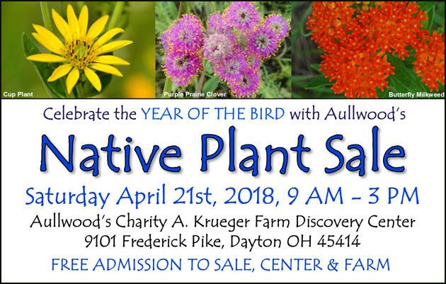 Aullwood's Native Plant Sale